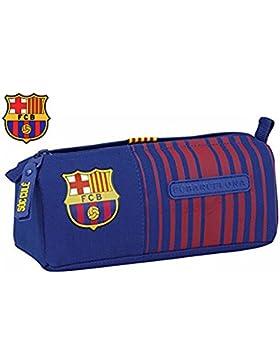 Federmäppchen F.C. Barcelona Fußball blau & rot–Collection 2017–21x 8x 7cm
