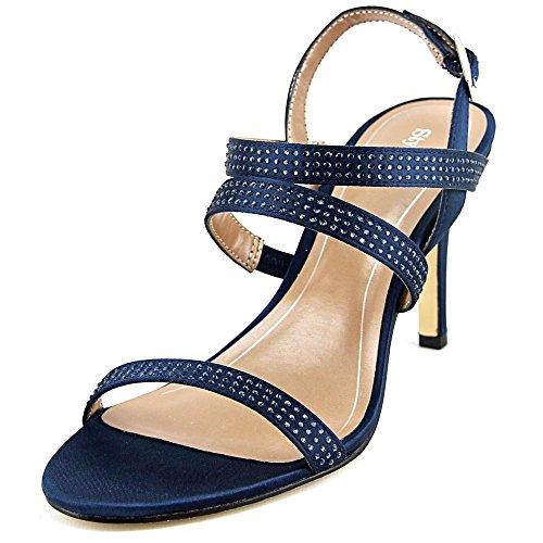 Style & Co Urey Textile Sandale Blue Depth