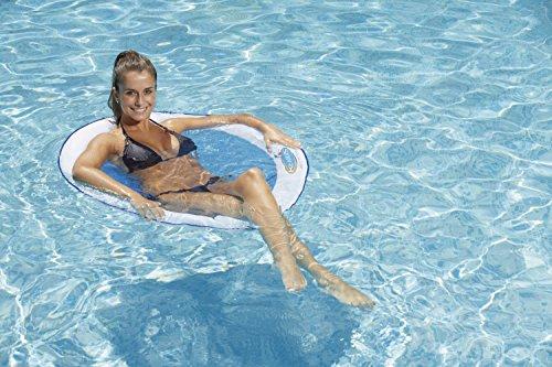 Kerlis 13055Spring float einen Papasansessel Stuhl PVC/Nylon weiß 35x 23x 5,83cm