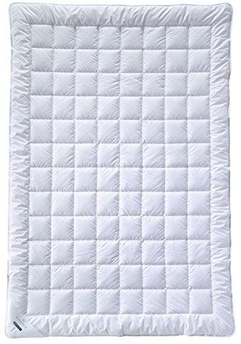 Billerbeck 5104880003 E21 King Superlight - Sommerdecke Faserdecke 155 x 220 cm,Weiß