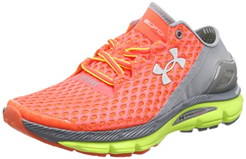 Under Armour - Ua W Speedform Gemini - Sneakers da donna, Multicolore ( Arancione / Grigio / Giallo ), EU 38.5