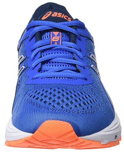 Asics Herren Gt-1000 6 Laufschuhe Blau (Victoria Blue/dark Blue/shocking Orange 4549)