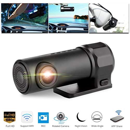Felicy Dash Cam, 1080P Versteckte Auto Kamera Wifi DVR Dash Cam Recorder Camcorder Nachtsicht Cam