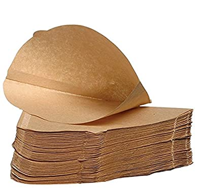 Pack of 100 - Unbleached Coffee Papers - Size Four (4) : everything five pounds (or less!)