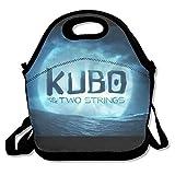 Kubo y los dos cuerdas Travel Tote bolsa para el almuerzo