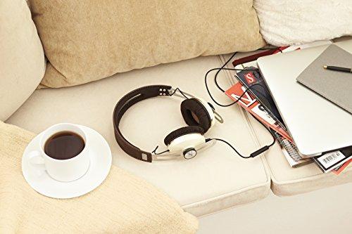Sennheiser Momentum 2.0 On-Ear-Kopfhörer (geeignet für Apple iOS) ivory - 2