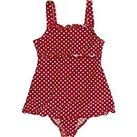 Playshoes Mädchen Bademode Badeanzug mit Rock Punkte mit UV-Schutz, Oeko-Tex Standard 100