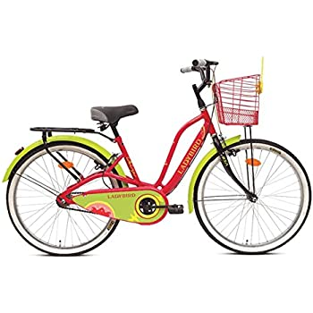 BSA Cycles Ladybird Dreamz Bicycle, 26-inch: Amazon in: Sports