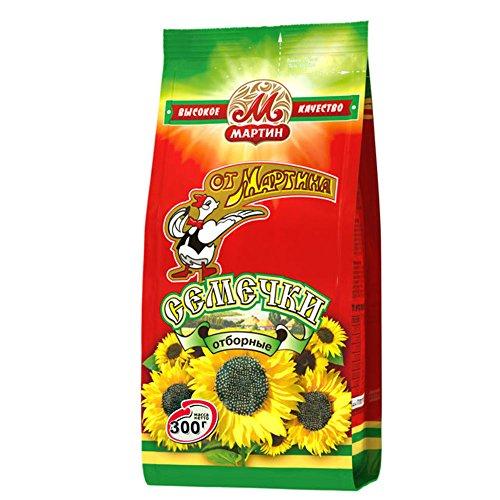 Preisvergleich Produktbild Ot Martina Schwarze Sonnenblumenkerne in Schale,  geröstet,  4er Pack (4 x 300 g)