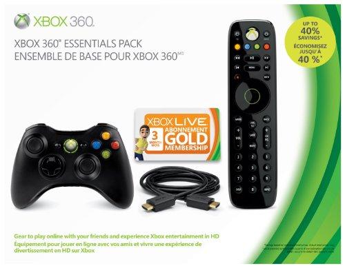 Microsoft Essentials Pack Zubehör Bundle für die Xbox 360