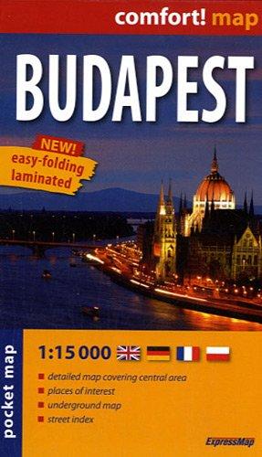 Budapest 1:15.000 plano de bolsillo plastificado. ExpressMap. (Comfort ! Map) por VV.AA.
