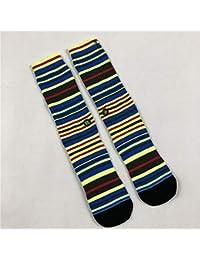 JJHR Calcetines Tie Dyeing Tide Socks Calcetines De Baloncesto Sports Socks Calcetines De Rendimiento Térmico Suave