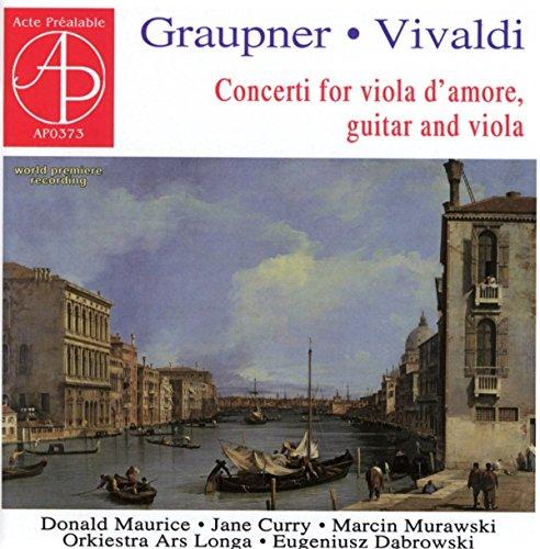 Konzerte Für Viola d'Amore und Gitarre