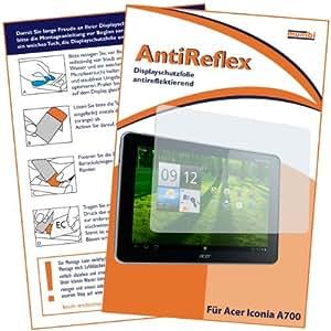 mumbi Displayschutzfolie Acer Iconia A510 A511 A700 25,7 cm (10,1 Zoll) Schutzfolie AntiReflex antireflektierend