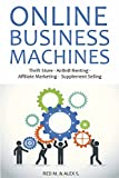 ONLINE BUSINESS MACHINES (4 in 1 Bundle): Thrift Store - AirBnB Renting -  Affiliate Marketing -  Supplement Selling