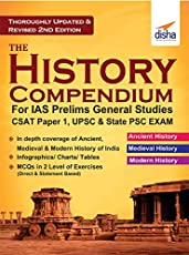 The History Compendium for IAS Prelims General Studies CSAT Paper 1, UPSC & State PSC 2nd Edition