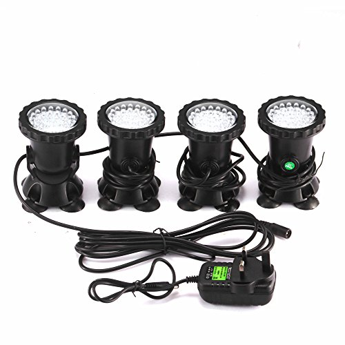Led Underwater Lights Hospitable 36 Led Light Fish Tank Spotlight Waterproof Swimming Pool Pond Lamps Led Aquarium Light Garden Spot Light Outdoor Lighting
