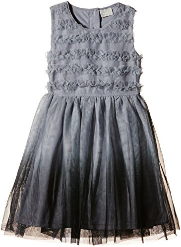 NAME IT Mädchen Kleid NITOLDIP K SPENCER WL 615, Gr. 116, Grau (Frost Gray)