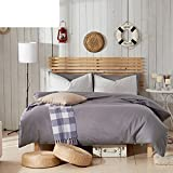 200tc simple style + pure cotton + pure color + vier sets(1quilt cover +1bett don +2kissenbezug)-A Queen1