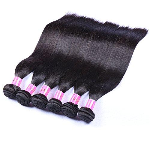 YUSHI Tempérament des Cheveux ladies100 de% réel Peut être Colorant Chaud Chaud Femmes de Colorant Peuvent Se Laver Perruque (3pcs), 40cm