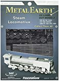Fascinations Metal Earth MMS033 - 502608 Steam Locomotive, Konstruktionsspielzeug, 2 Metallplatinen, ab 14 Jahren