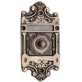 Adonai Hardware Nehushtan Decorative Brass Bell Push or Door Bell or Push Button