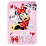 Best Disney Cots - Disney Polar Fleece Blankets-Minnie Mouse Review