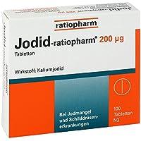 Jodid-ratiopharm 200 μg Tabletten, 100 St preisvergleich bei billige-tabletten.eu