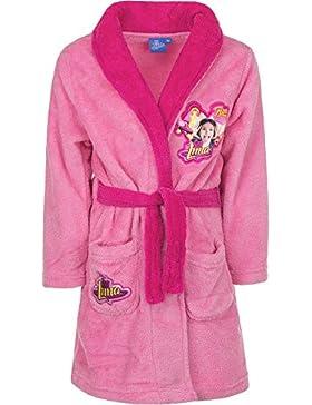 Disney Soy Luna - Vestaglia Calda e Morbida in Pile Coral Fleece - Bambina - Novità Prodotto Originale 3822HP