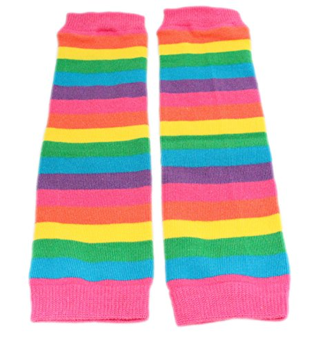 baby-red-pink-rainbow-stripe-leg-warmers-age-3-months-upto-8-years-old-pink