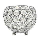 Vosarea Silberne Kristallkerzenhalter der christlichen Verzierung für Das dekorative Schaffen des Raumes, Das schöne Lichteffekte für Hochzeitsfeiertagsparty schafft