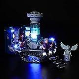 LIGHTAILING Conjunto de Luces (Ideas Doctor Who) Modelo de Construcción de Bloques - Kit de luz LED Compatible con Lego 21304 (NO Incluido en el Modelo)