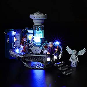 LIGHTAILING Set di Luci per (Ideas Doctor Who) Modello da Costruire - Kit Luce LED Compatibile con Lego 21304 (Non… 0716852281954 LEGO
