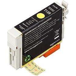 AmazonBasics - Wiederaufbereitete Tintenpatrone für Epson Apple T129 Gelb
