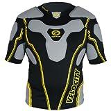 Optimum Velocity - Protección de hombros para hombre, tamaño L, color negro /...
