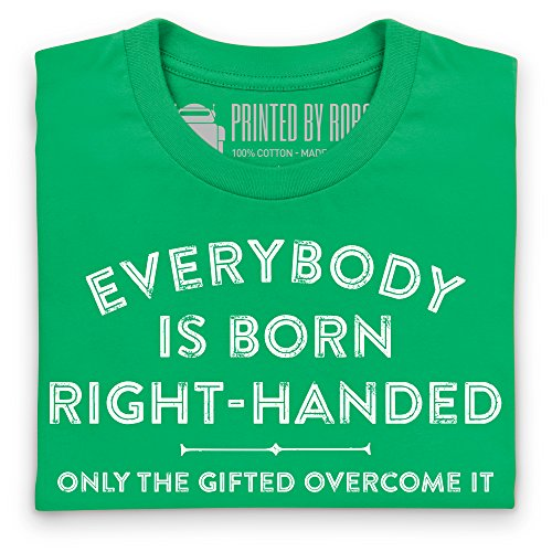 Born Right-Handed T-Shirt, Herren Keltisch-Grn