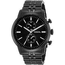 Fossil Townsman Chronograph Black Dial Men's Watch - FS4787