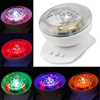 StillCool® Sun and Star lighting Lamp 4 LED beads 360 Degree Romantic Lamp Relaxing Mood Light Projector for Baby Nursery Bedroom Children Room and Valentine's Gift from shifashion