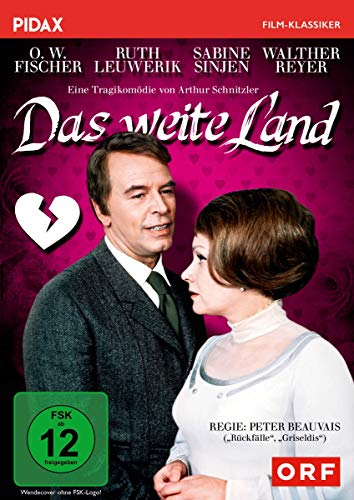 Das weite Land / Eine Tragikomödie von Arthur Schnitzler mit O. W. Fischer und Ruth Leuwerik (Pidax Film-Klassiker)