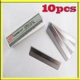 S¨¦curit¨¦ 10x Nail Art Platinum bord Coated Cutter Lames Pour Fimo Canes Rods Slice