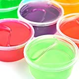 Slime Fluffy, Oyedens 1pc Magic Crystal Soft Slime DIY Argile Slime Super Magnetic Strange Attractor Stress Reliever avec Fun Toy Magnetic Space Putty Slime Toy ( 12 couleurs couleur aléatoire)