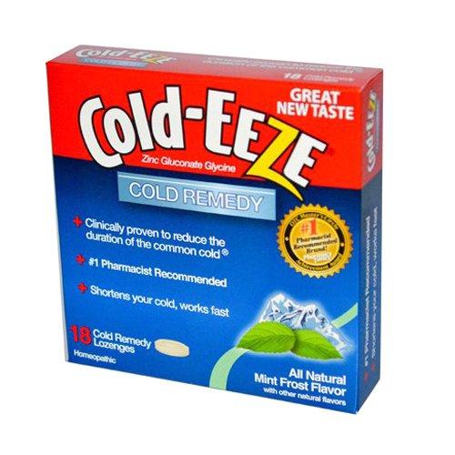 Cold-Eeze Erkältungsmittel Lutschtabletten mit Minz Geschmack 18 Stück