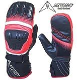 ATTONO Skihandschuhe Fäustlinge Ski Snowboard Warme Handschuhe - Größe M/8
