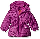 Pink Platinum Baby Girls Infant Tonal Floral Print Puffer Jacket