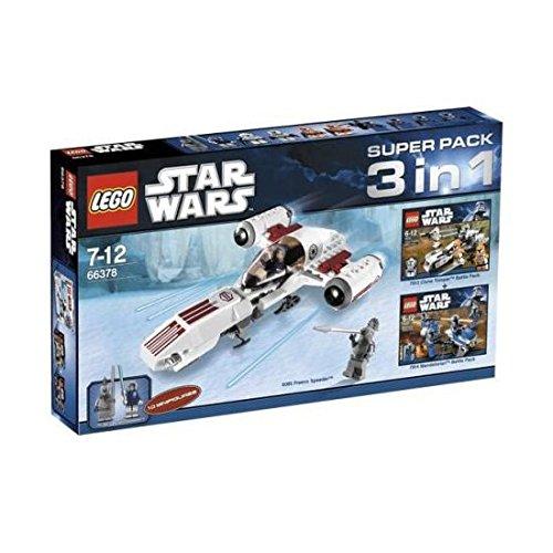 LEGO 66378 STAR WARS SUPER PACK 3 IN 1