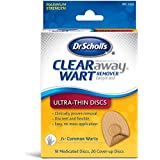 Dr. Scholl'S Clear Away Salicylic Acid Wart Remover, Pads & Discs, 18 Ea