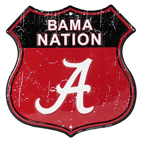 Party Explosions Universität Alabama Bama Nässestop S18Nation Route Schild