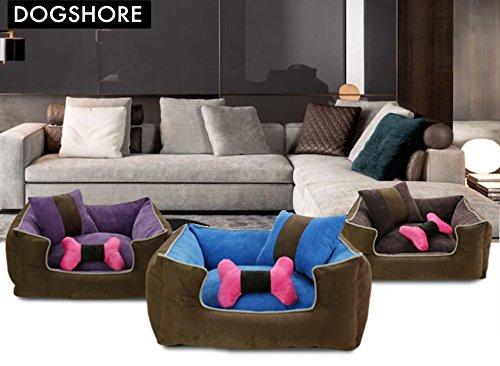 Cuccia sof per cane da interno morbida dogshore corduroy for Interno per cuscini