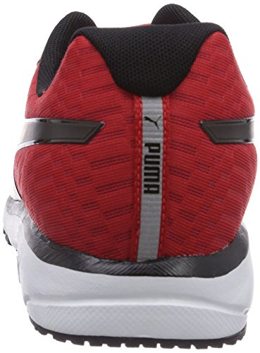 Puma  Narita v3 SPEED, Chaussures pour homme spécial sports en salle Rouge (H.R.Red/Black)