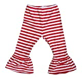 Kirei Sui Baby White Stripes Pants Large Red